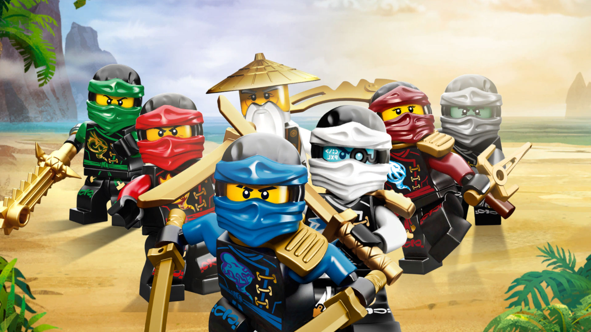 1The Lego Ninjago