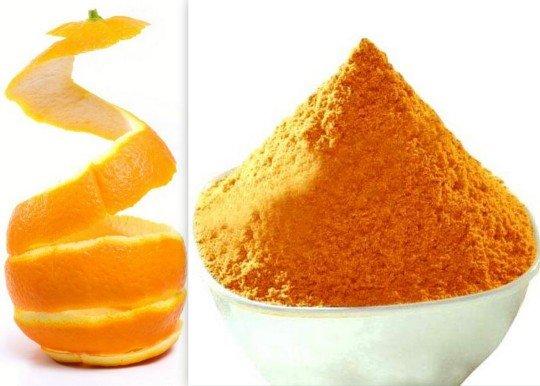 ماسك قشر البرتقال مع ماء الورد