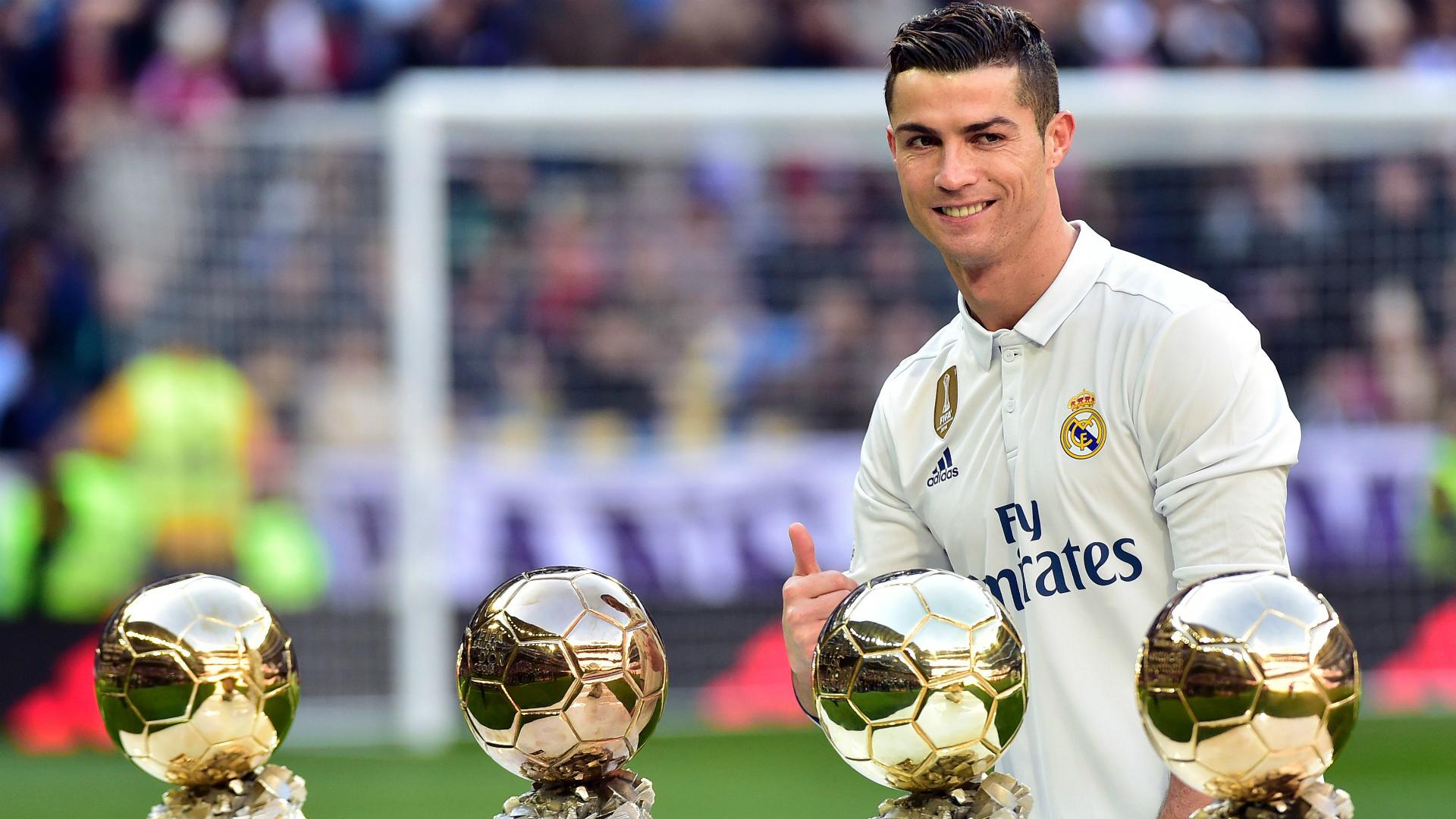 رونالدو و4 كرة ذهبية
