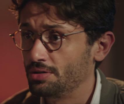 مشهد لكريم في الفيلم