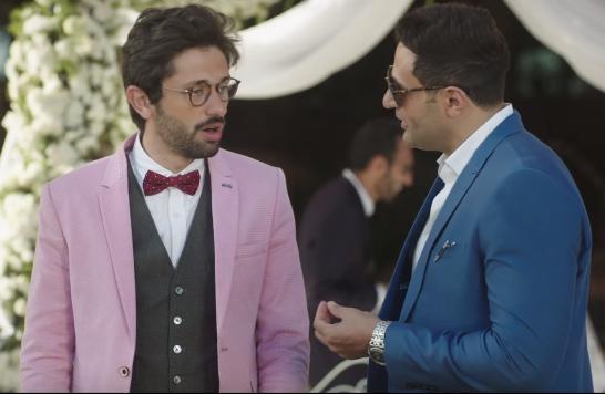 محمد نور مع كريم محمود عبد العزيز