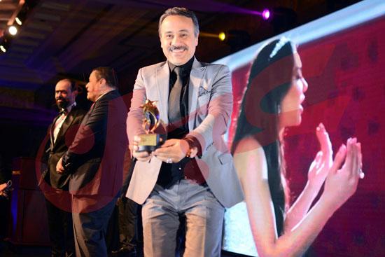 تكريم المتميزين من نجوم الفن والاعلام (9)