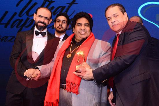 تكريم المتميزين من نجوم الفن والاعلام (14)