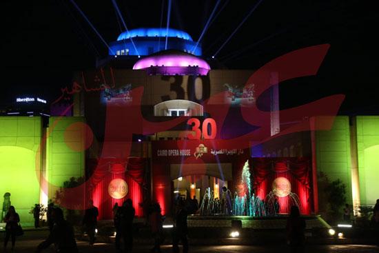 احتفال الاوبرا بعيدها الثلاثين (1)
