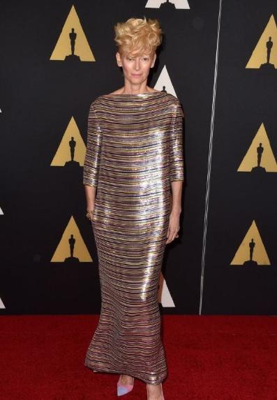 عام 2014 بفستان من Schiaparelli