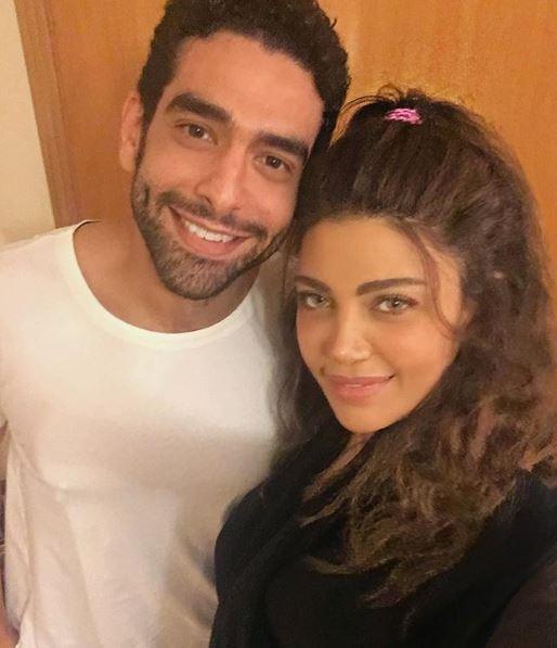 ريهام حجاج ومحمد كيلانى