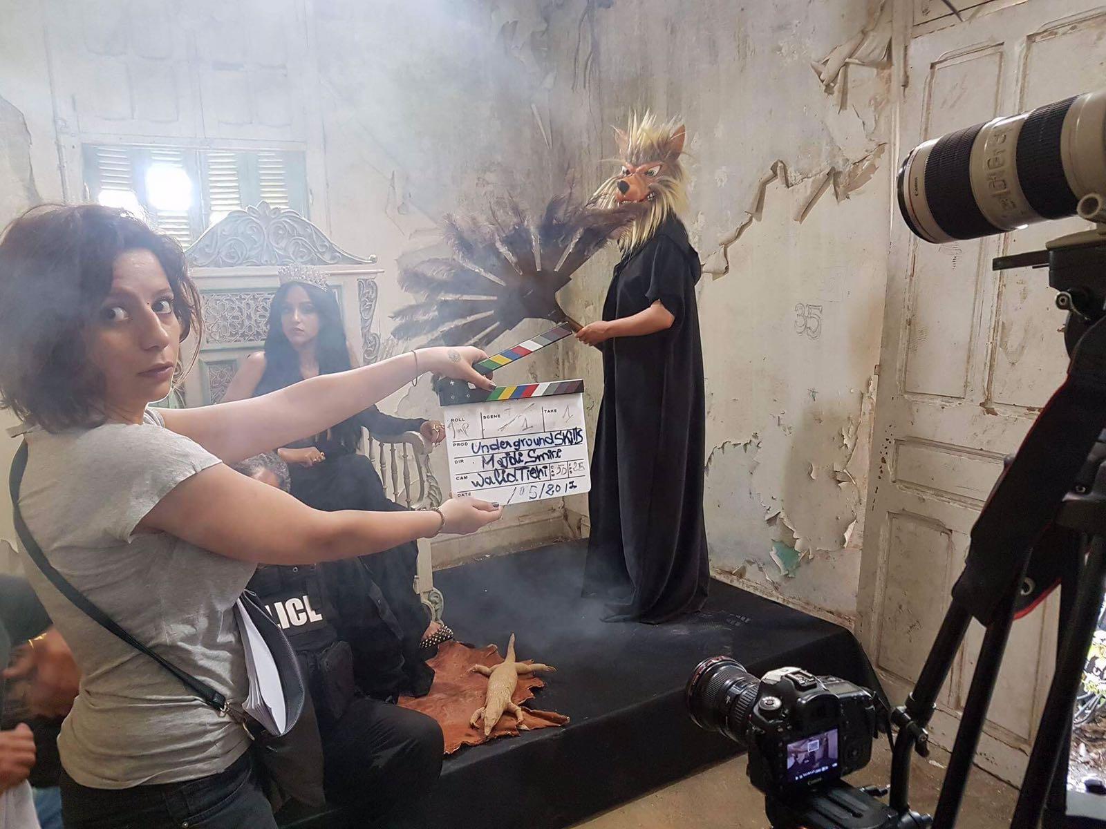 مايا في أحد أعمالها التليفزيونية