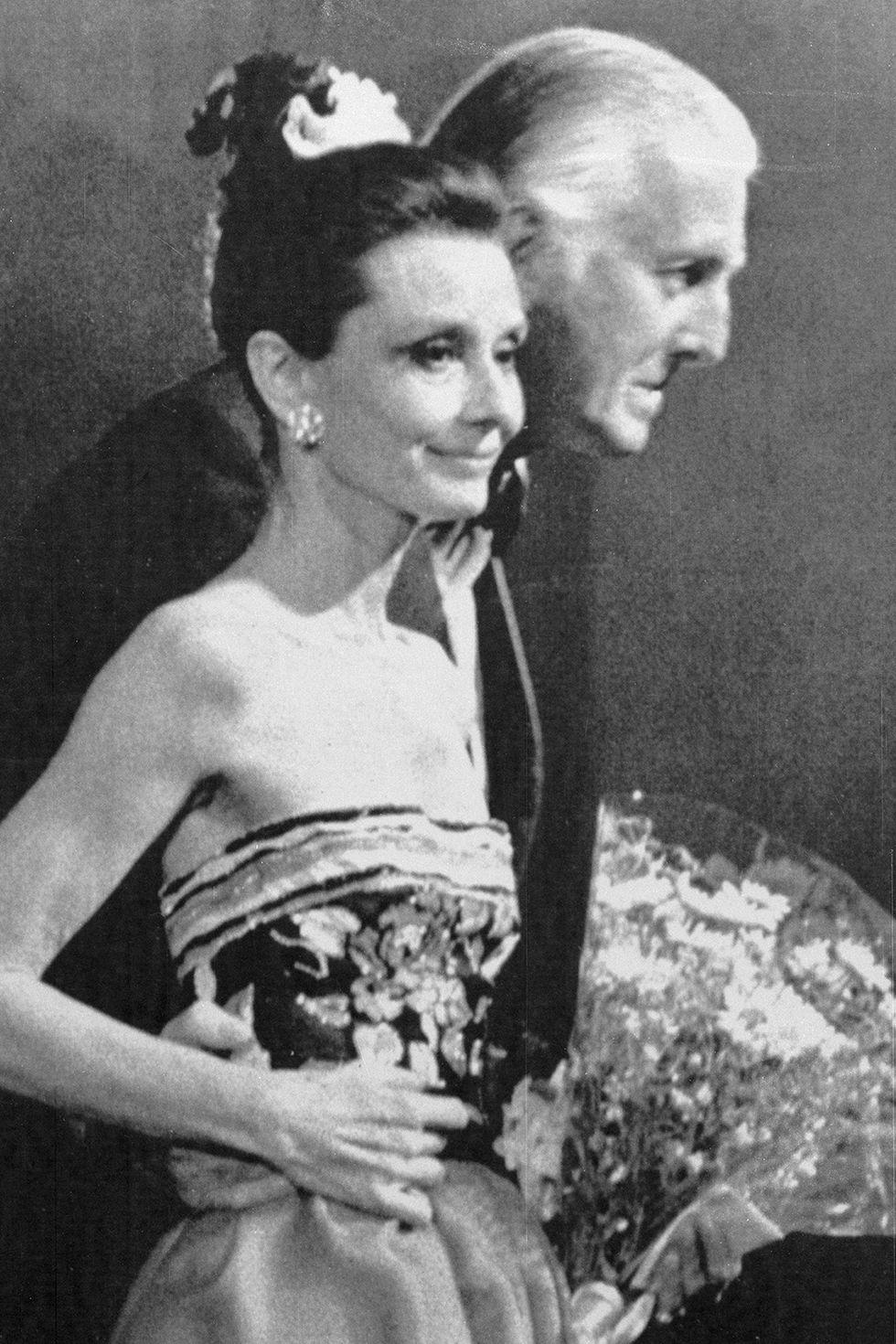 عام 1983 خلال الاختفال الـ 30 بعيد ميلاد دار Givenchy