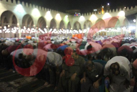 صلاة التراويح بمسجد عمرو بن العاص (4)