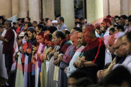 صلاة التراويح بمسجد عمرو بن العاص (2)