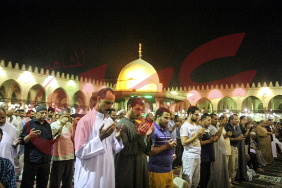صلاة التراويح بمسجد عمرو بن العاص (35)