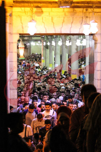 صلاة التراويح بمسجد عمرو بن العاص (40)