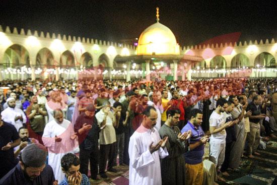 صلاة التراويح بمسجد عمرو بن العاص (37)
