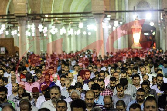 صلاة التراويح بمسجد عمرو بن العاص (8)