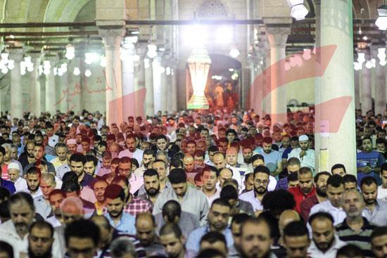 صلاة التراويح بمسجد عمرو بن العاص (6)