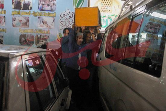 جنازة والدة تامر عبد المنعم (30)