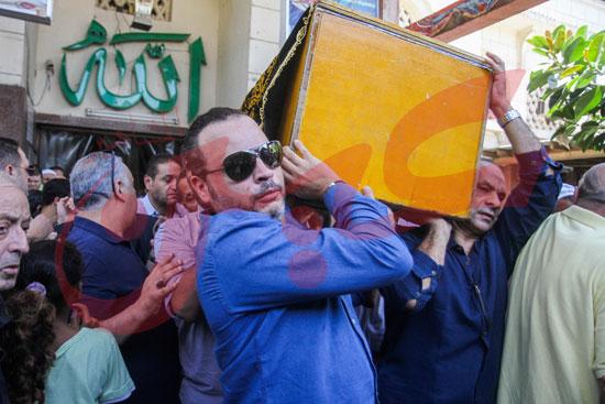 جنازة والدة تامر عبد المنعم (28)