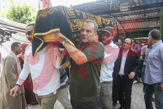 جنازة والدة تامر عبد المنعم (2)