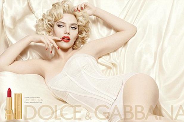 سكارليت جوهانسون بالحملة الدعائية لـ Dolce and Gabbana