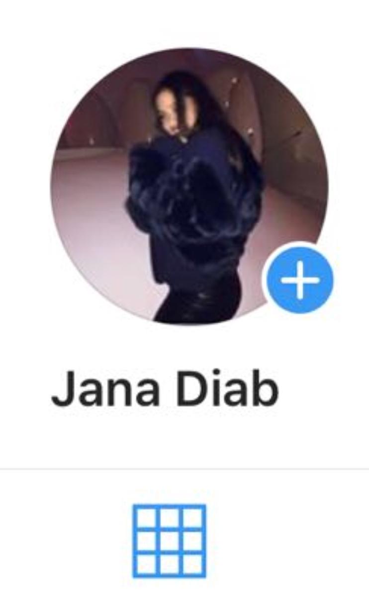 حساب جنا عمرو دياب