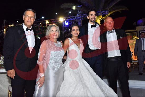 زفاف أمينة طنطاوي وياسين الكرارجي (2)
