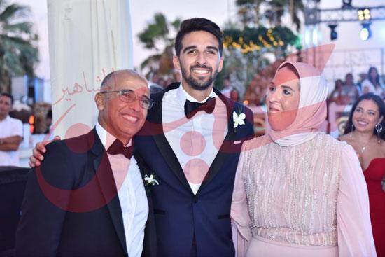 زفاف أمينة طنطاوي وياسين الكرارجي (17)
