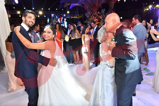 زفاف أمينة طنطاوي وياسين الكرارجي (13)