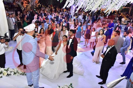 زفاف أمينة طنطاوي وياسين الكرارجي (12)