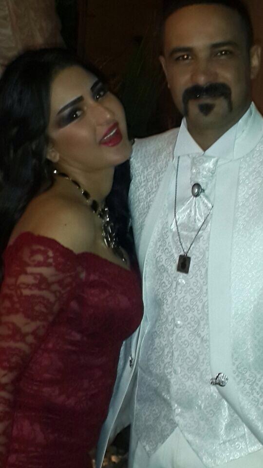 شيما الحاج مع محمد رجب