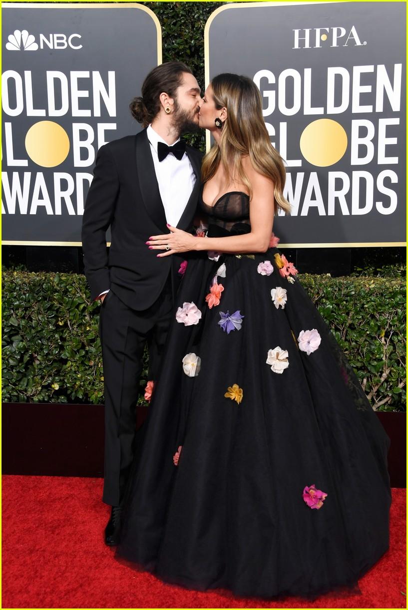 heidi-klum-and-fiance-tom-kaulitz-share-a-kiss-at-golden-globes-2019-03