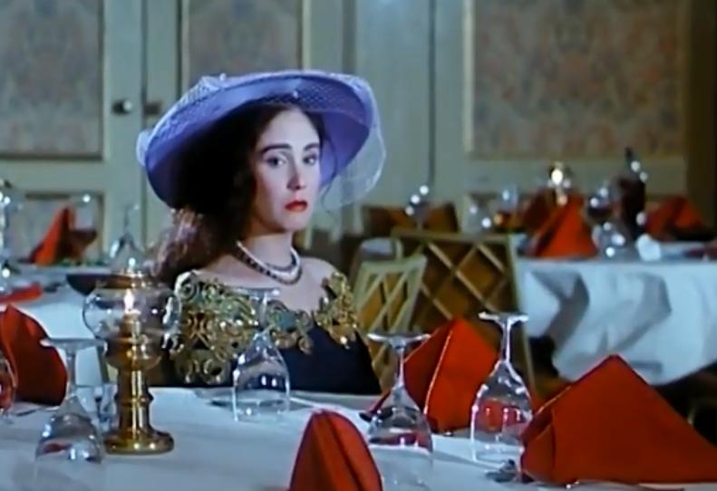 النجمة شيرين في فيلم بخيت و عديلة  (1)