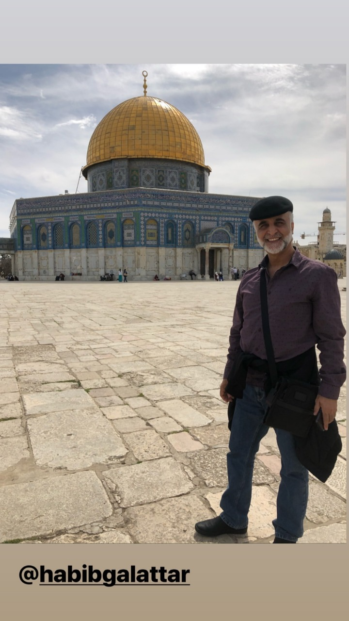 تكريم البحرينية هيفاء حسين فى فلسطين وزيارتها للقدس (5)