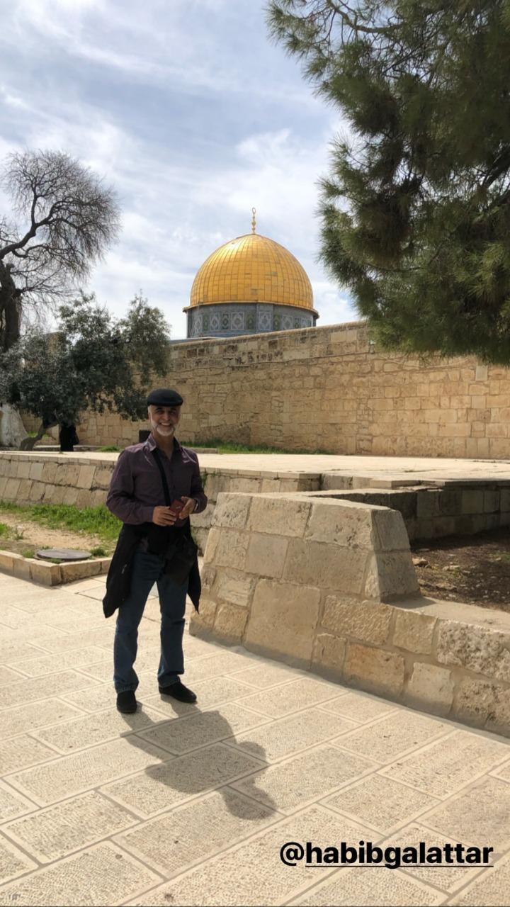 تكريم البحرينية هيفاء حسين فى فلسطين وزيارتها للقدس (6)