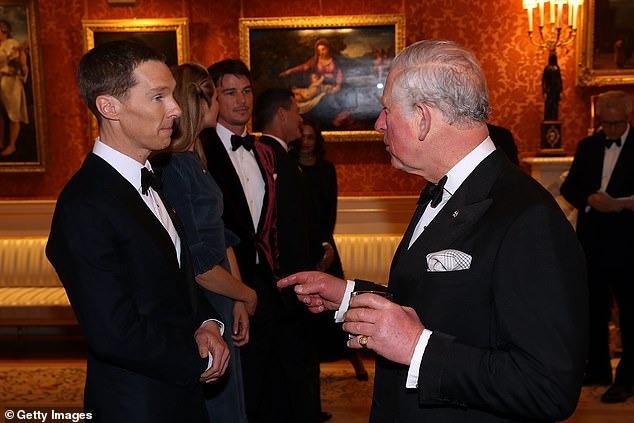 جورج و أمل كلونى فى حفل قصر باكينجهام (9)