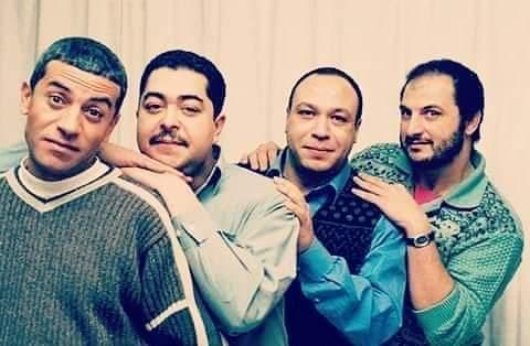 خالد الصاوى وخالد صالح وصبرى فواز وطارق عبد العزيز