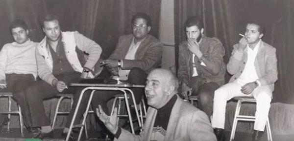خالد صالح وخالد الصاوى