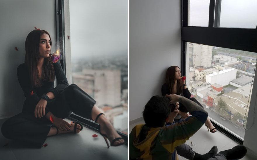 اللعب بالنار فى التصوير الفوتوغرافى
