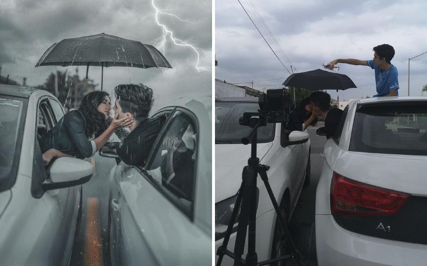 الطقس والمعدات البسيطة فى التصوير الفوتوغرافى