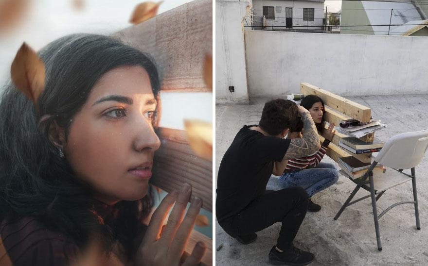 سيناريو صنع جدار فى التصوير الفوتوغرافى
