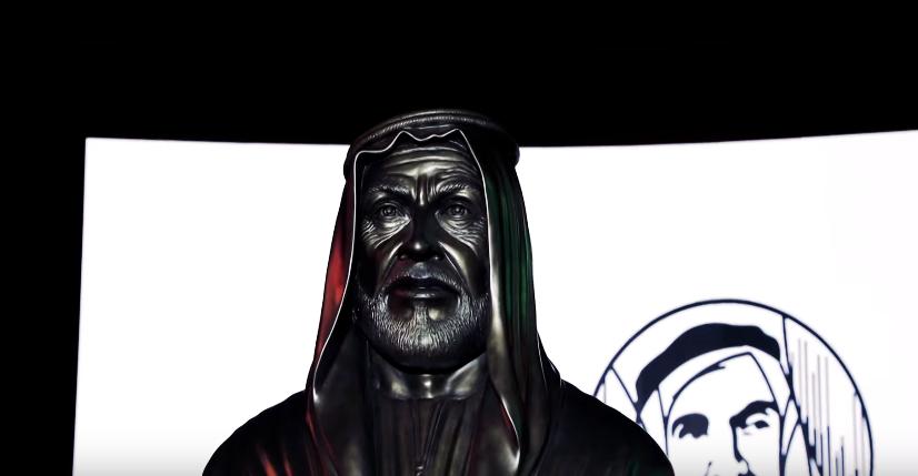 تمثال للشيخ زايد