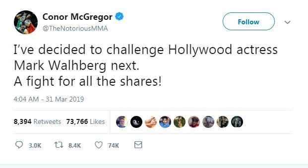 تغريدة توم كروز