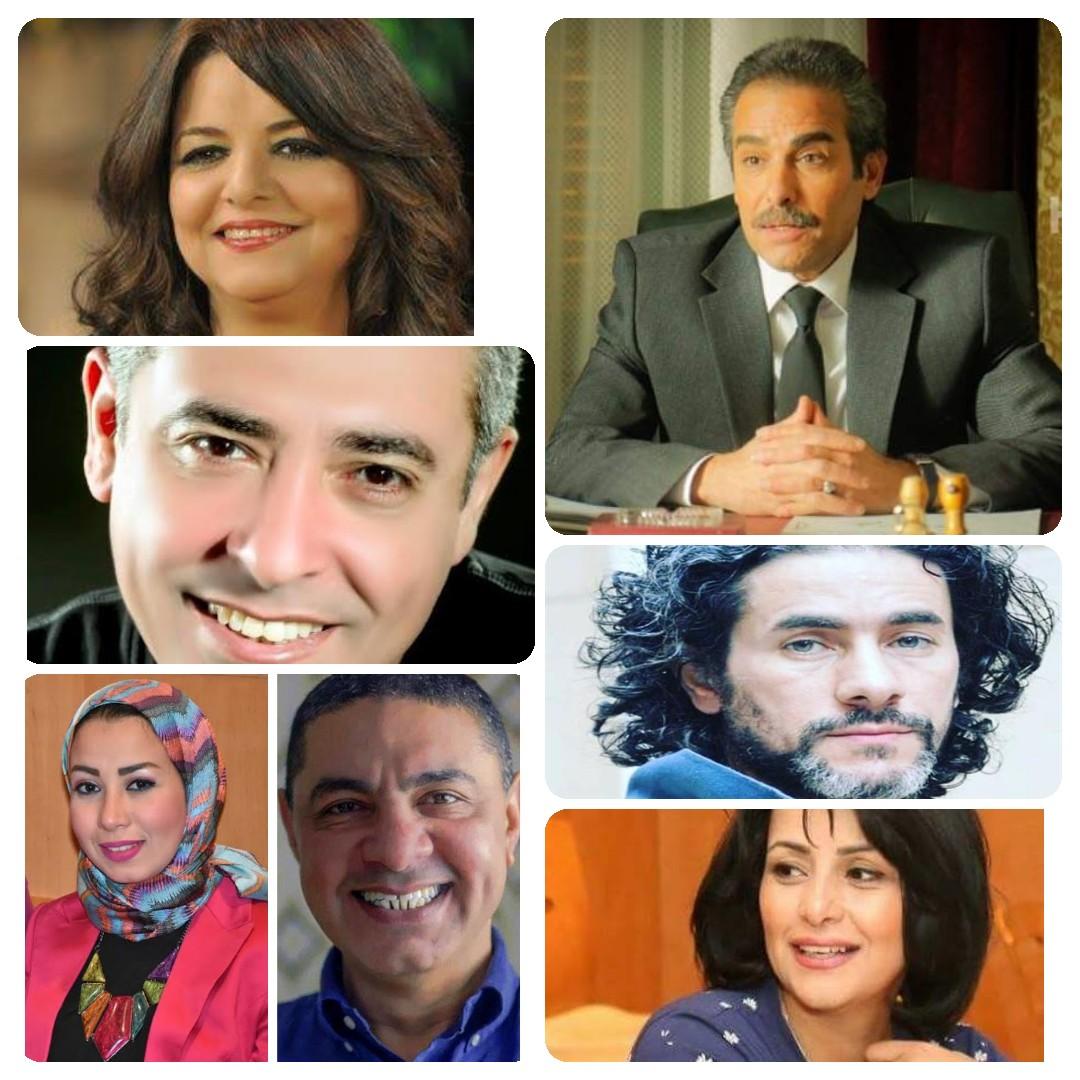 اعضاء اللجنة العليا بالقومي للمسرح المصري