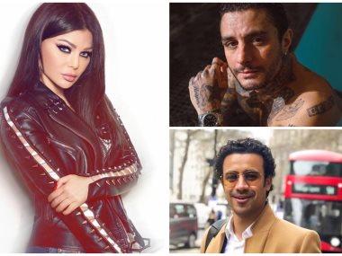 هيفا واحمد الفيشاوى احمد داوود