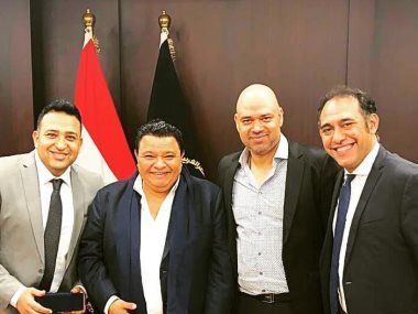 خالد جلال وخالد تاج الدين وعمرو مصطفى وتامر حسين