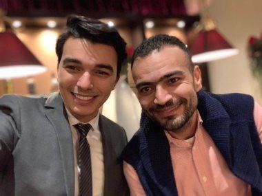 أحمد الرباعى و أحمد مجدى