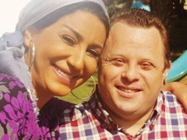 """مازن السماحى مع النجمة وفاء عامر فى كواليس مسلسل """"السر"""""""