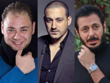 مصطفى شعبان ودياب ومحمد على رزق
