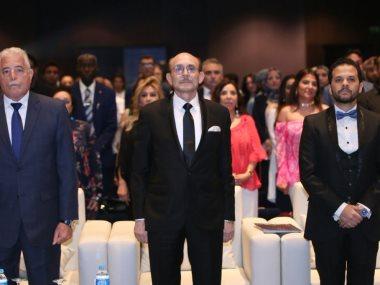 جانب من افتتاح مهرجان المسرح الشبابى