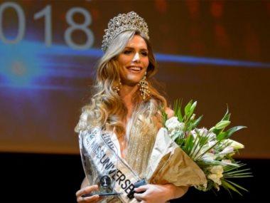 انجيلا بونس ملكة جمال اسبانيا
