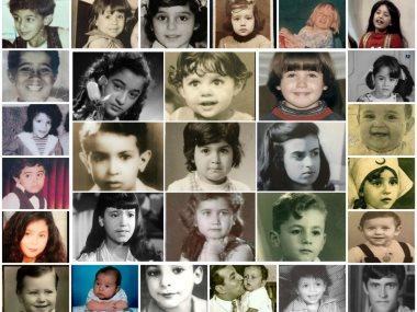 40 نجما ونجمة فى مرحلة الطفولة